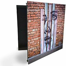 148097501 Armoire à clés avec façade en verre