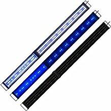 150cm - 180cm Rampe Aquarium LED Bleu Blanc