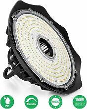 150W UFO LED Projecteur Industreil Noir 5000K -