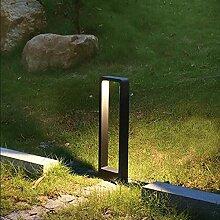 15W étanche LED jardin pelouse lampe moderne en