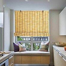 180x200cm Store Bambou Extérieur Naturel Rideau