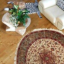 185x185 rond Authentique tapis d'Orient