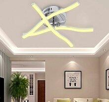 18w 3 Lumières Blanc Chaud LED Plafonnier, Lampe