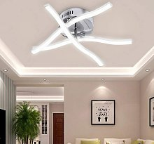 18w 3 Lumières Blanc Froid LED Plafonnier, Lampe