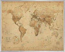1art1 Cartes Historiques Mini Poster et Cadre