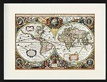1art1 Cartes Historiques Poster De Collection