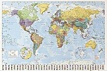 1art1 Cartes Posters XXL - Carte du Monde, Edition