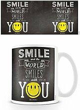 1art1 Smileys Tasse À Café Mug - Smile and The