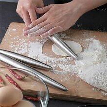 1Pc acier inoxydable rouleau à pâtisserie