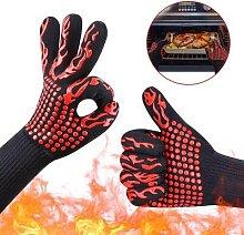 1PC BBQ gant résistant à la chaleur Barbecue