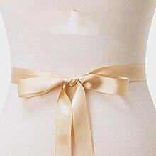 (1PC) mariage de ceinture de mariée en strass de