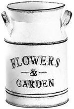 1Pc Pot de fleur rétro fleur Vase métal fleur