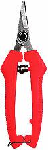 1PC secateur en acier inoxydable secateur de