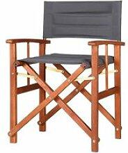 1x Chaise de régie - Chaise de metteur en scène