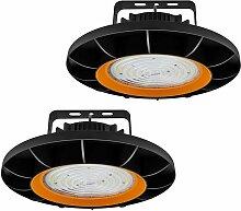 2× 200W UFO Projecteur LED Dimmable Projecteur