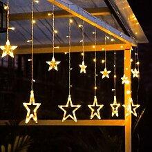 2.5M rideau étoilé LED guirlande lumineuse pour
