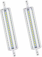 2 Ampoules LED R7s135mm 12W Dimmable Blanc Froid