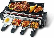 2 en 1 électrique Smokeless Barbecue Grill