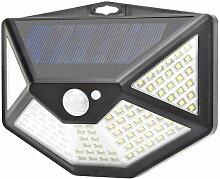 2*Lampe Solaire Extérieur Détecteur de Mouvement