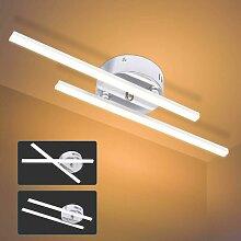 2 Lumières Blanc Chaud Plafonnier LED, 14W Lampe