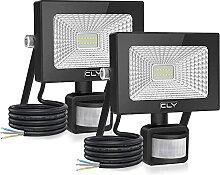 【2 Pack 10W】Projecteur LED Avec Détecteur de