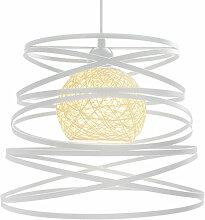 2 Pack Lustre Suspension Créatif Industriel Lampe