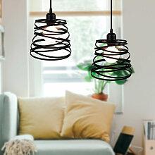 2 Pack Lustre Suspension Créatif Lampe Abat-jour