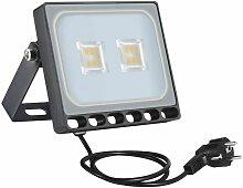 2 PCS 10W 6ème génération de lampadaire