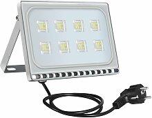 2 PCS 50W 6ème génération de lampadaire