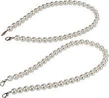 2 pièces chaîne de sac de perles de perle,
