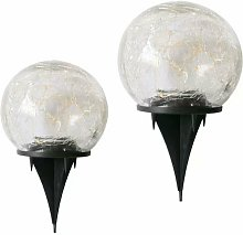 2 pièces de lumière souterraine d'ampoule de