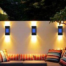 2 pièces nouveau Puissant LED Solaire Lumière