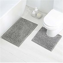 2 Pièces - Tapis de Toilette et Tapis de Bain 2