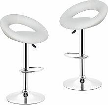 2*Tabourets de Bar chaise fauteuil de bar de