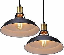 2 x Luminaires Suspension Vintage Lustre | Rétro
