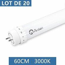 20×Anten 60CM T8 Tube LED 10W G13 Néon LED Tube