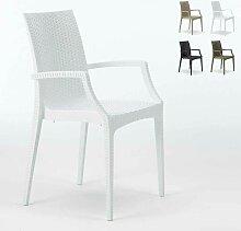20 chaises de jardin accoudoirs fauteuils bar