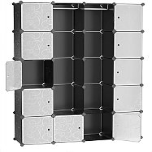 20-Cube Armoire de Chambre avec porte Meuble de