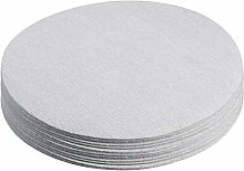 20 pièces 6 pouces oxyde d'aluminium blanc
