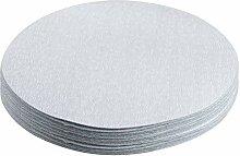 20 pièces 7 pouces oxyde d'aluminium blanc