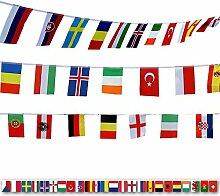 200 drapeaux du monde,Drapeaux du Monde Fanion