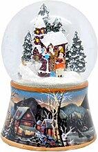 20000 Boule á neige pere noel avec cadeaux avec