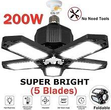 200W LED Garage Lumière LED D'atelier De