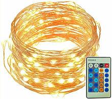 20m 200LED lumiere de fil de cuivre, guirlande