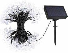 20m LED guirlande solaire de papillons, IP44