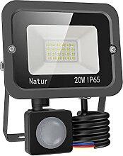 20W Projecteur LED Exterieur Detecteur de