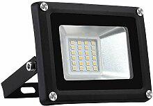 20W Projecteur LED Extérieur, Sararoom IP65 Spot