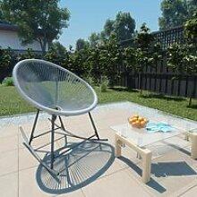 🐳2270Fauteuil à bascule Rocking Chair -