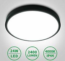 24W Plafonnier LED Blanc naturel 4000K IP40 - Anten