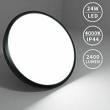 24W Plafonnier LED IP40 Rond Éclairage général